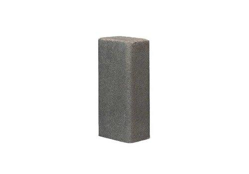Palissade rustiek 11x16,5x40cm grijs