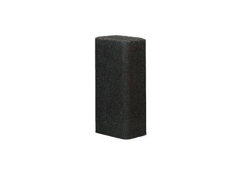 Palissade rustiek 11x16,5x40cm antraciet