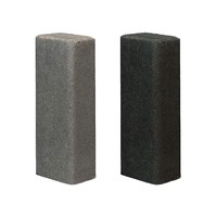 Palissade rustiek 11x16,5x100cm grijs