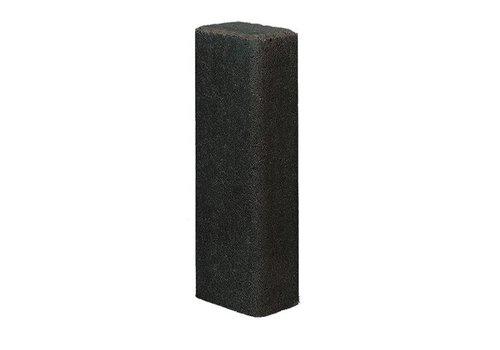 Palissade rustiek 11x16,5x100cm antraciet