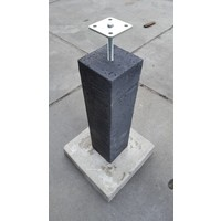 Prefab Betonpoeren 20x20x60cm Oud Hollands met hoogteverstelling