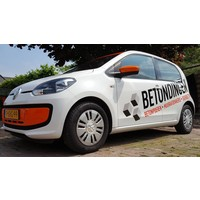 Volkswagen Up Reclame belettering