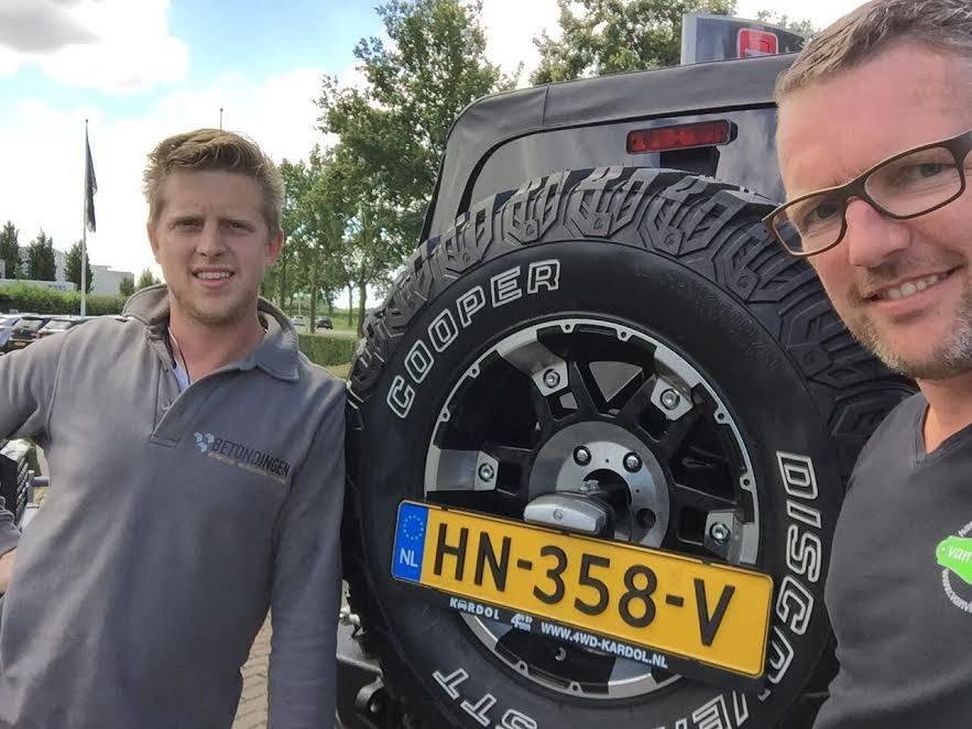 Directeur Betondingen.nl rijdt mee in Arctic Challenge