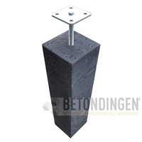 Prefab Betonpoer 20x20x60 cm Oud Hollands met hoogteverstelling