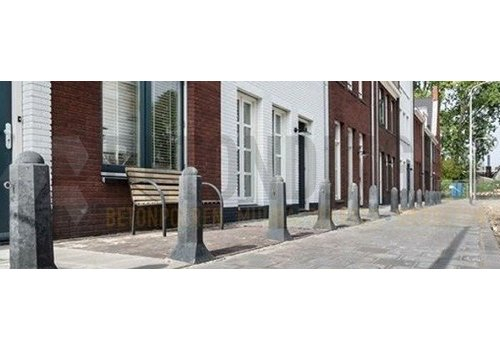 Amsterdammertjes straatpaaltjes in beeld