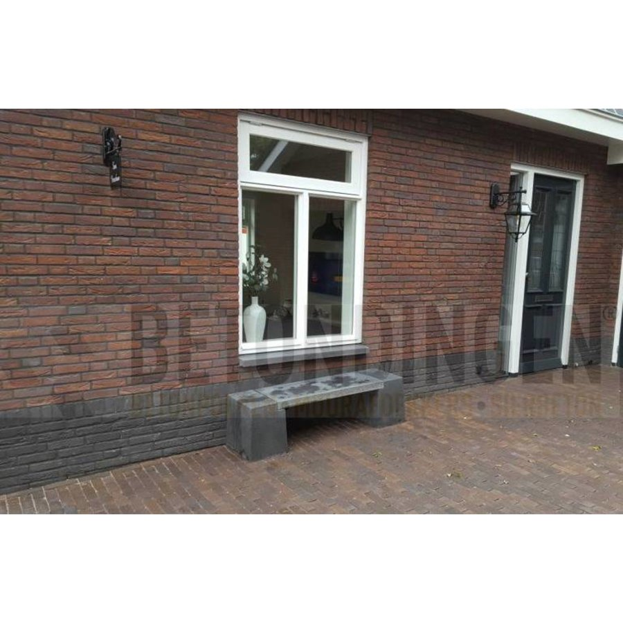 Betonnen bank Oud Hollands