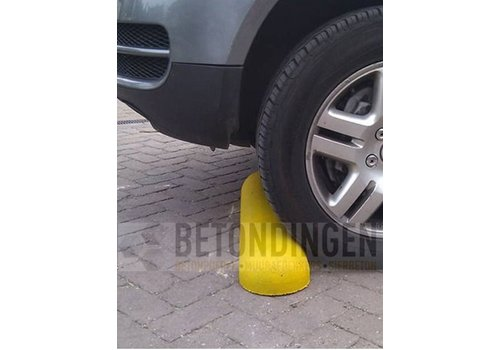 Varkensruggen beton plakmodel geel