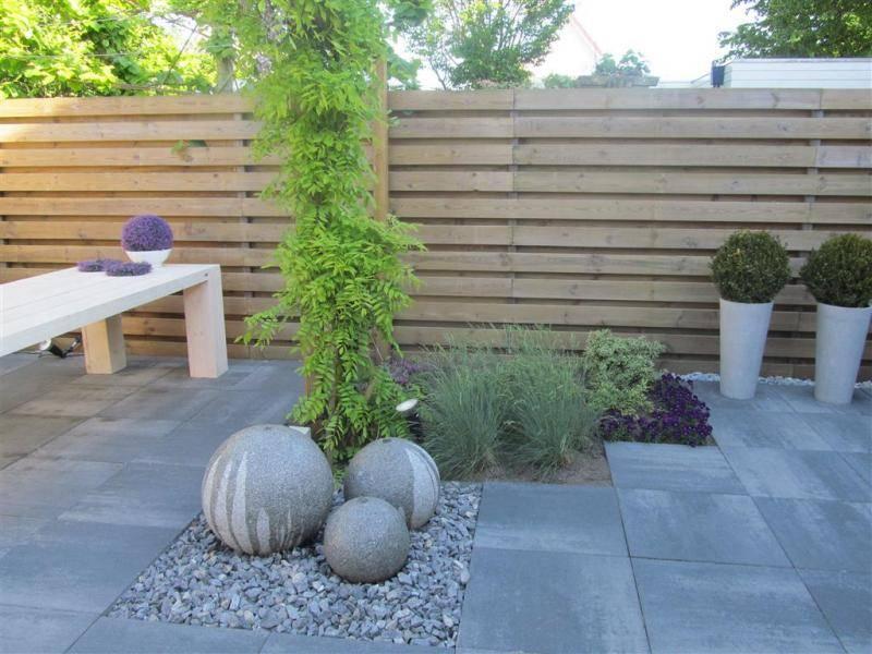 Tuinaanleg modern of rustiek, het kan met beton!