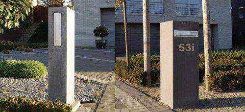 Waarom kiezen voor een betonnen brievenbus?