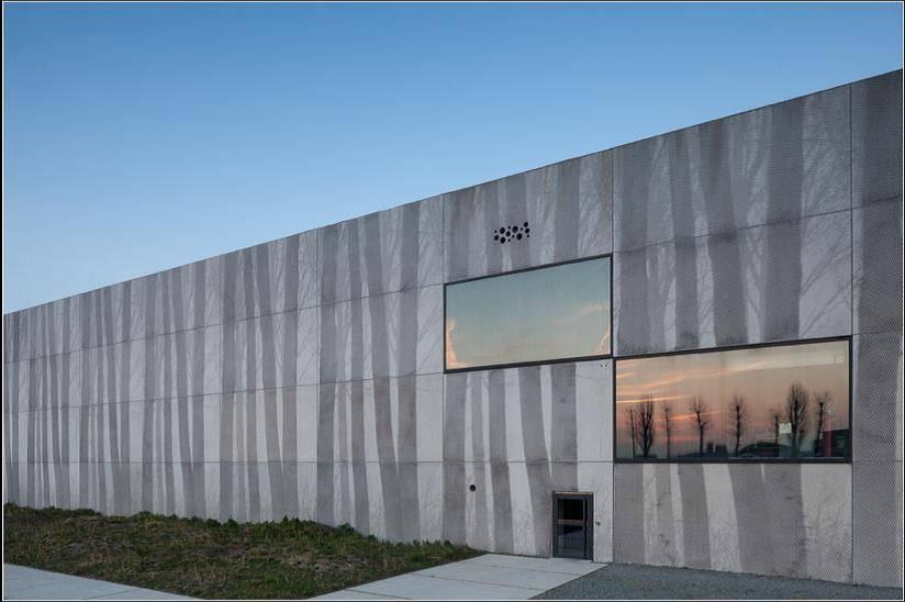 Architectonisch beton koppelt nuttige aan aangename