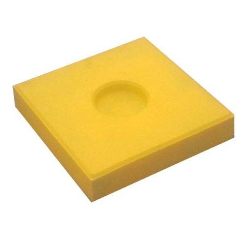 Knikkertegels geel