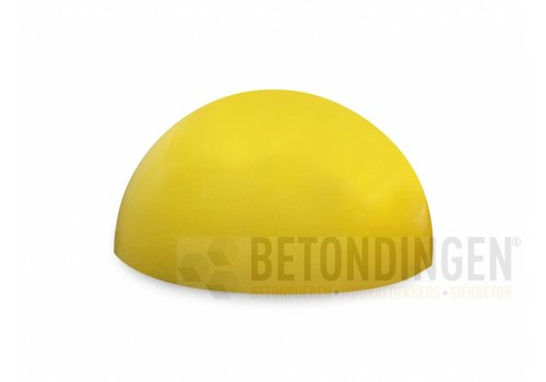 Parkeerbol geel Ø 33cm