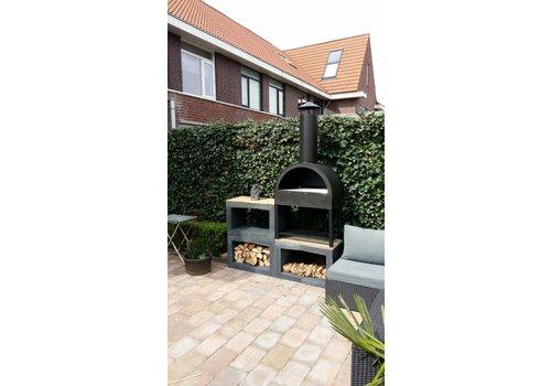 Houtopslag/ barbecue