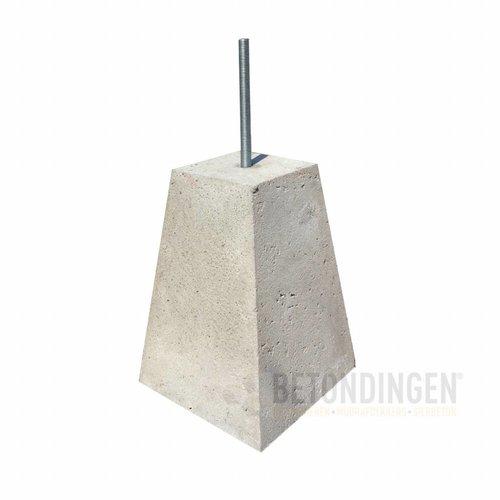 Prefab Betonpoer 15x15x35 cm M16 (D) ingraafmodel