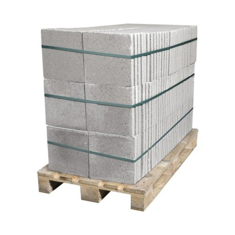 Betontegel grijs 30x30x4,5cm met facet