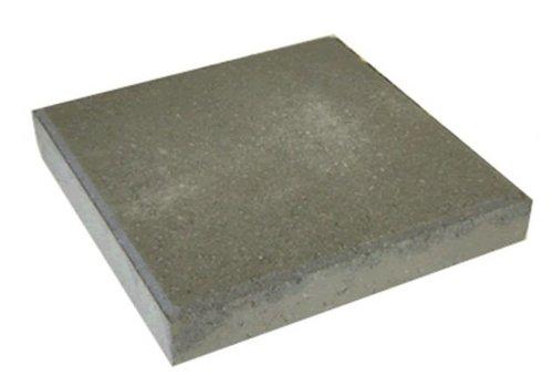 Betontegel grijs 50x50x5cm met facet