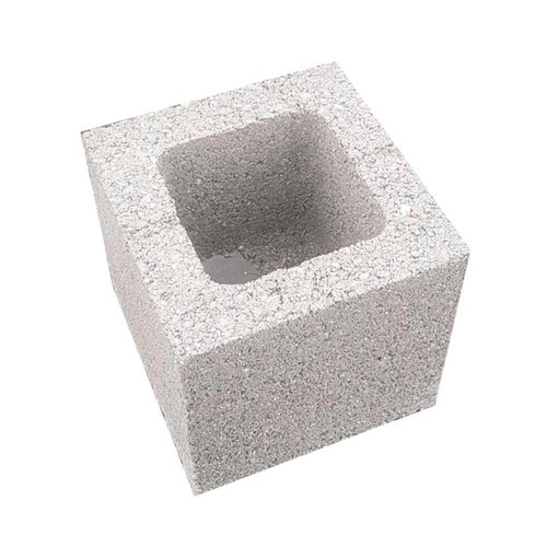Betonblok (hol) 19x19cm