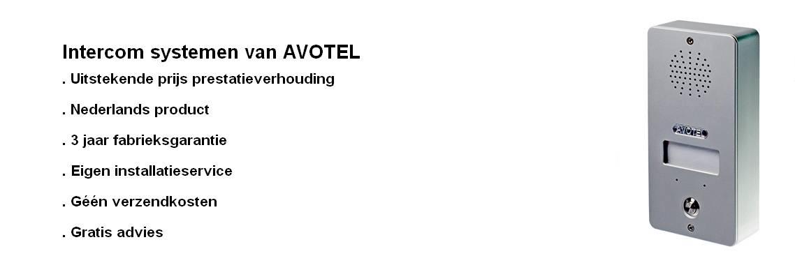 Intercom systemen van AVOTEL