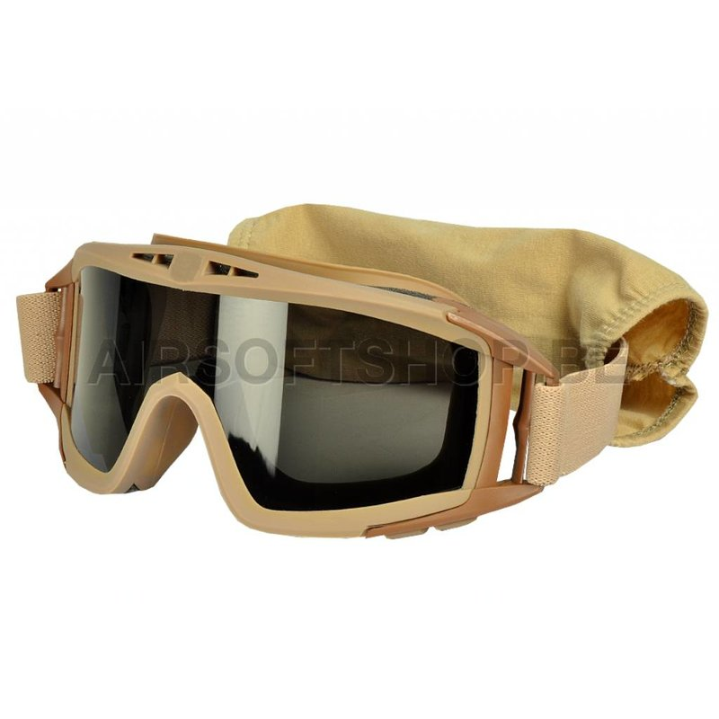Pirate Arms DLG Goggles (Sand)