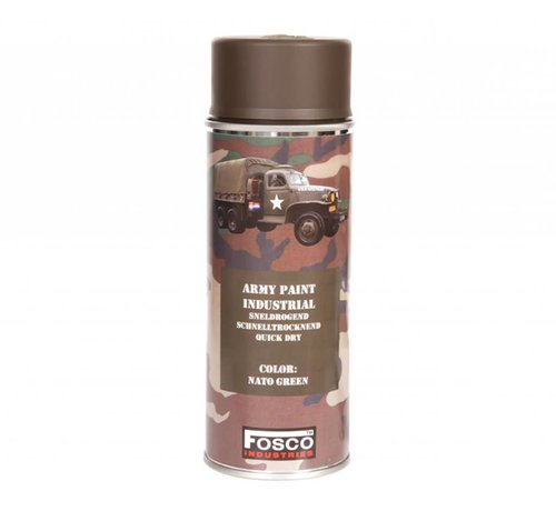 Fosco Spray Paint NATO Green 400ml