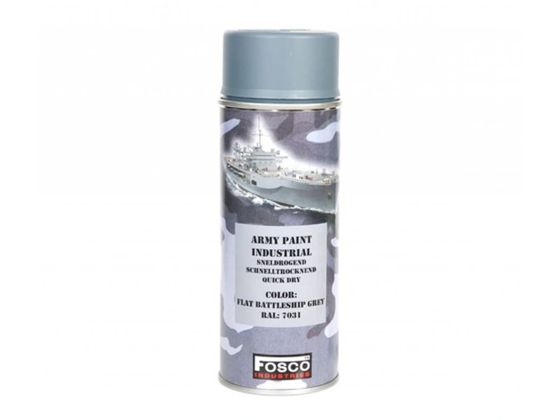 Fosco Spuitbus Battleship Grey 400ml
