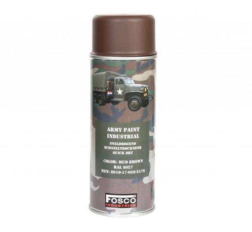 Fosco Spray Paint Mud Brown 400ml