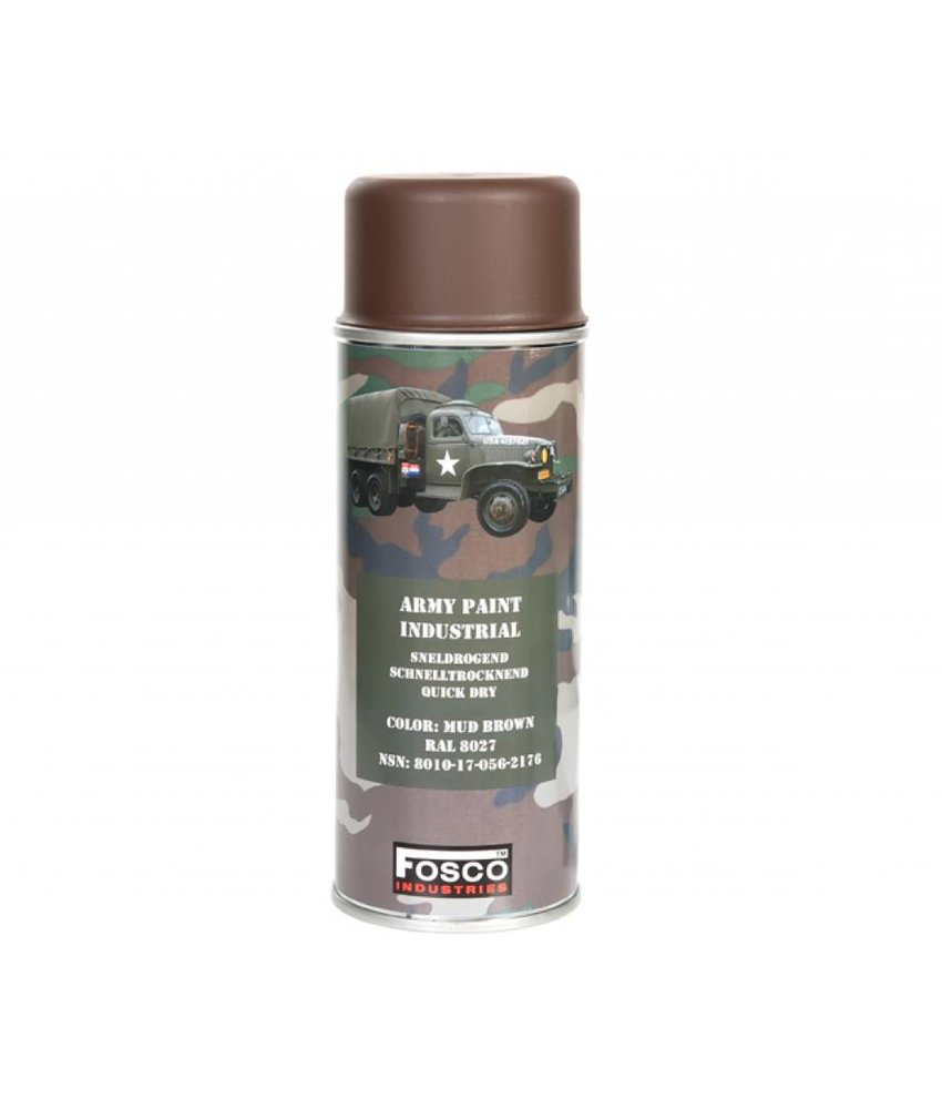 Fosco Spuitbus Mud Brown 400ml