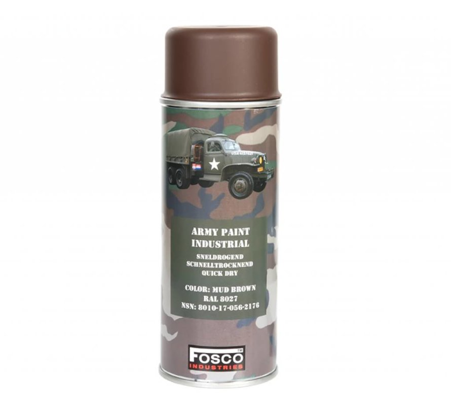 Spuitbus Mud Brown 400ml