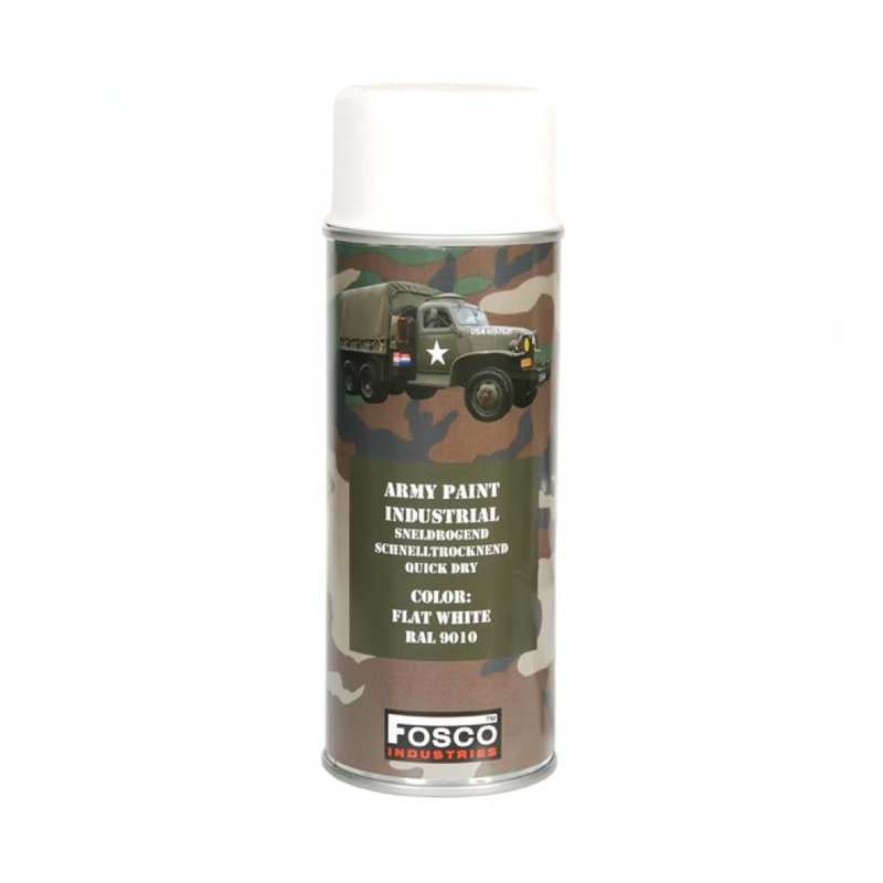 Fosco Spray Paint Flat White 400ml