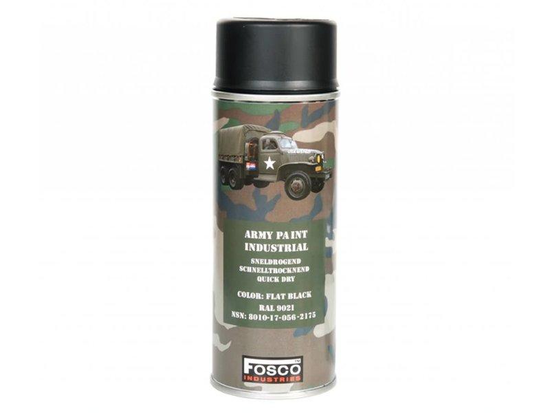 Fosco Spray Paint Flat Black 400ml