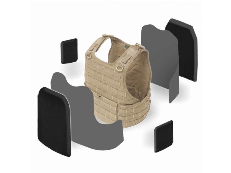 Warrior RICAS Compact Base (Coyote Tan)