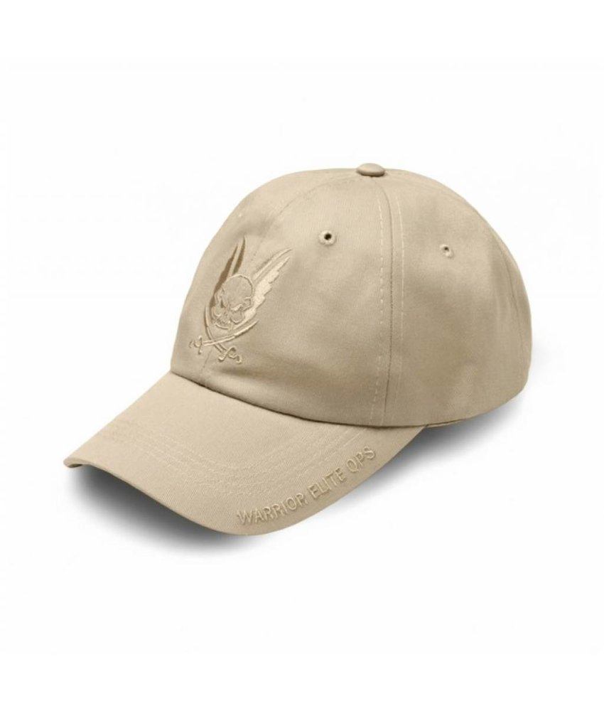 Warrior Logo Cap (Tan Embroidery)