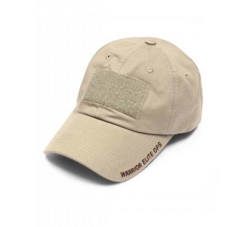 Warrior Velcro Cap (Coyote Tan Embroidery)