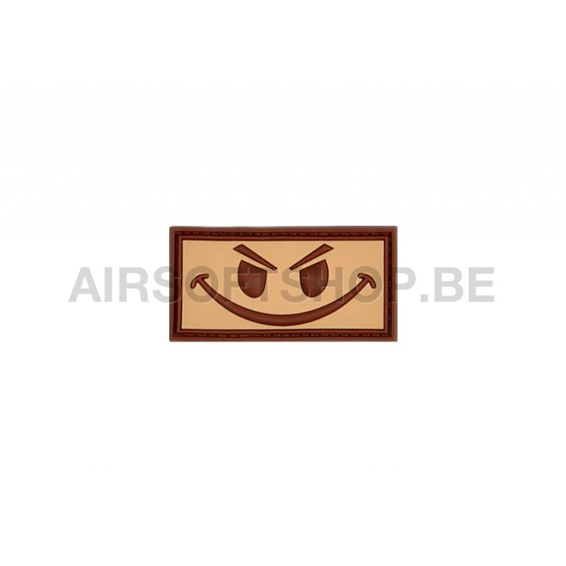 JTG Evil Smiley PVC Patch (Desert)