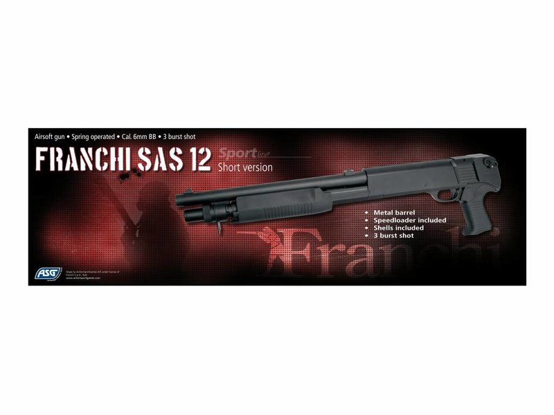 ASG Franchi SAS 12 Short Shotgun (M3 Shorty)