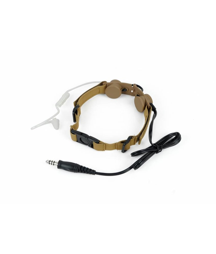 Z-Tactical Tactical Throat Mic (Dark Earth)