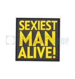 JTG Sexiest Man Alive PVC Patch (Yellow)