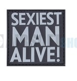JTG Sexiest Man Alive PVC Patch (SWAT)