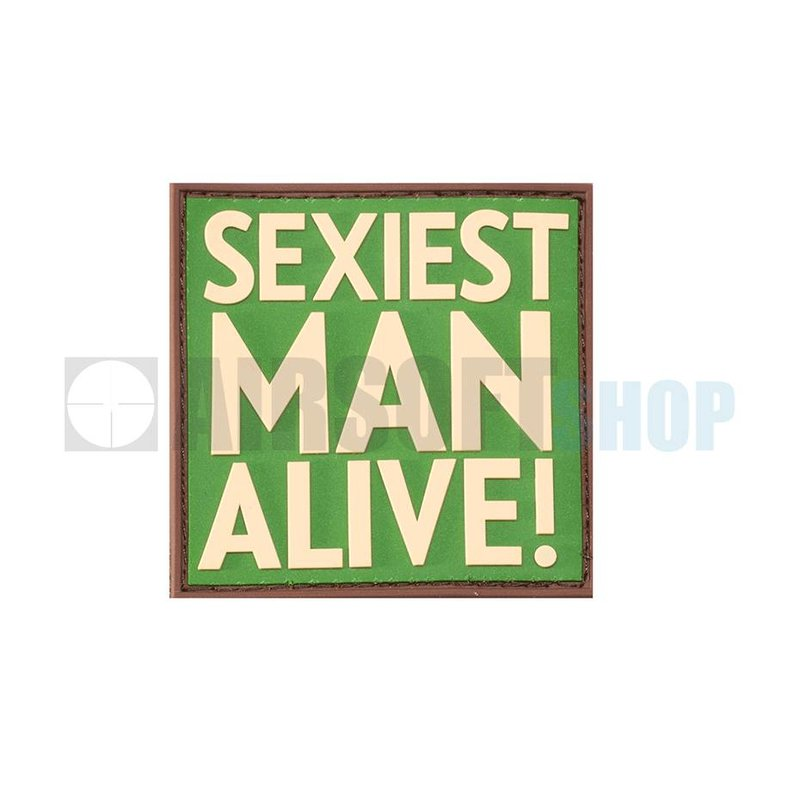 JTG Sexiest Man Alive PVC Patch (Multicam)