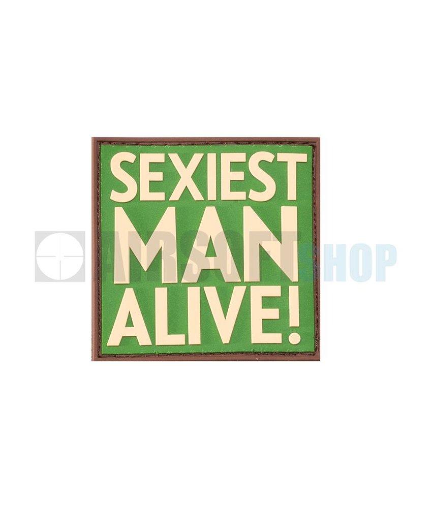 JTG Sexiest Man Alive PVC Patch (Multicam)