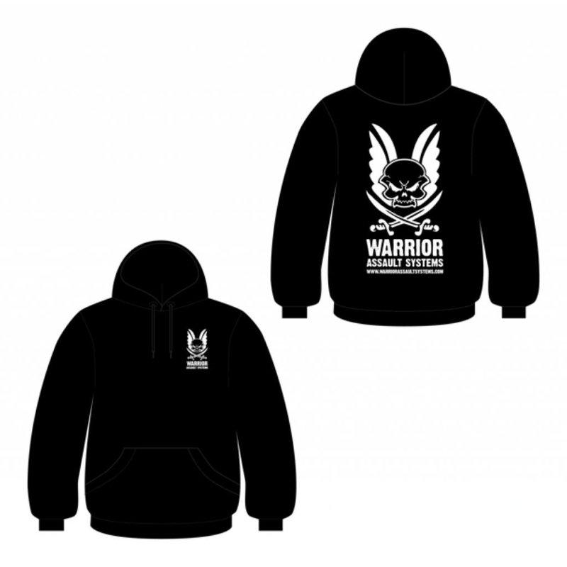 Warrior Logo Hoodie (Black)