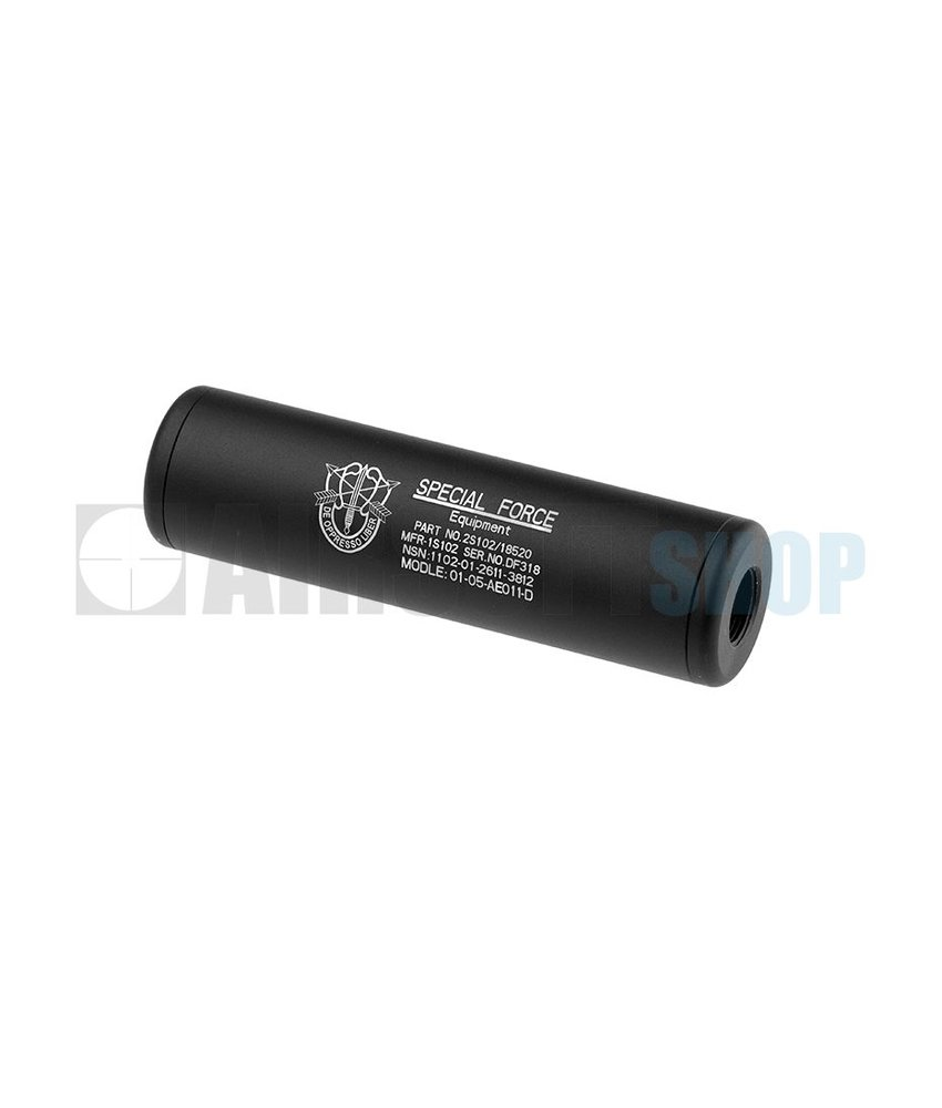 King Arms LW Silencer 110mm Special Forces CW/CCW