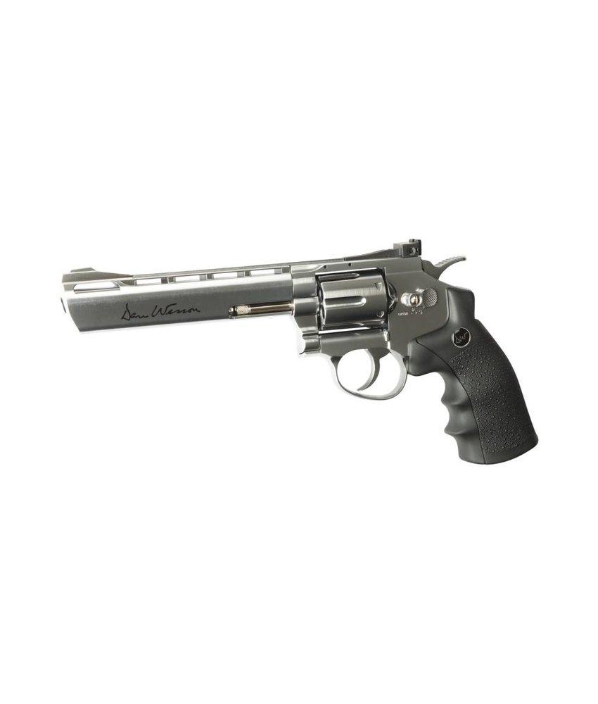 "ASG Dan Wesson 6"" Revolver Chrome (1 Joule)"