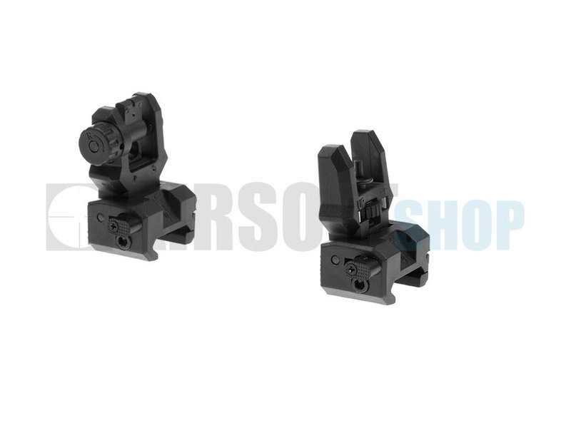 CAA Airsoft Low Profile Sight Set (Black)