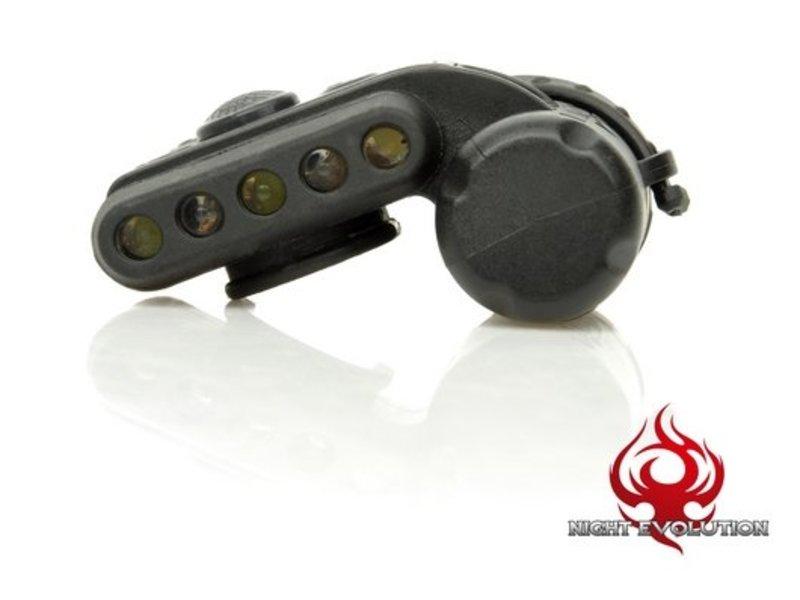 Night Evolution Helmet Light Set Gen3 (Black)