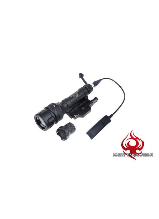 Night Evolution M620V Scout Flashlight (Black)