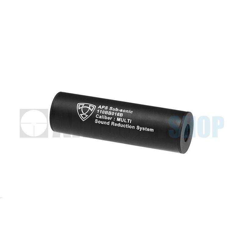 APS 110mm Silencer Black CCW (Black)