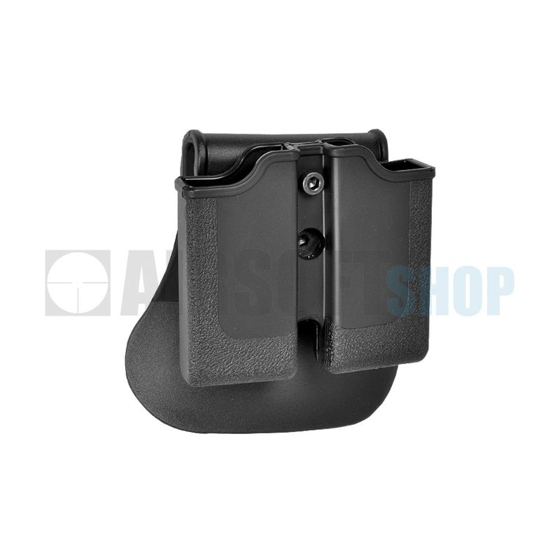 IMI Defense M1911 / P220 Double Magazine Pouch (Black)