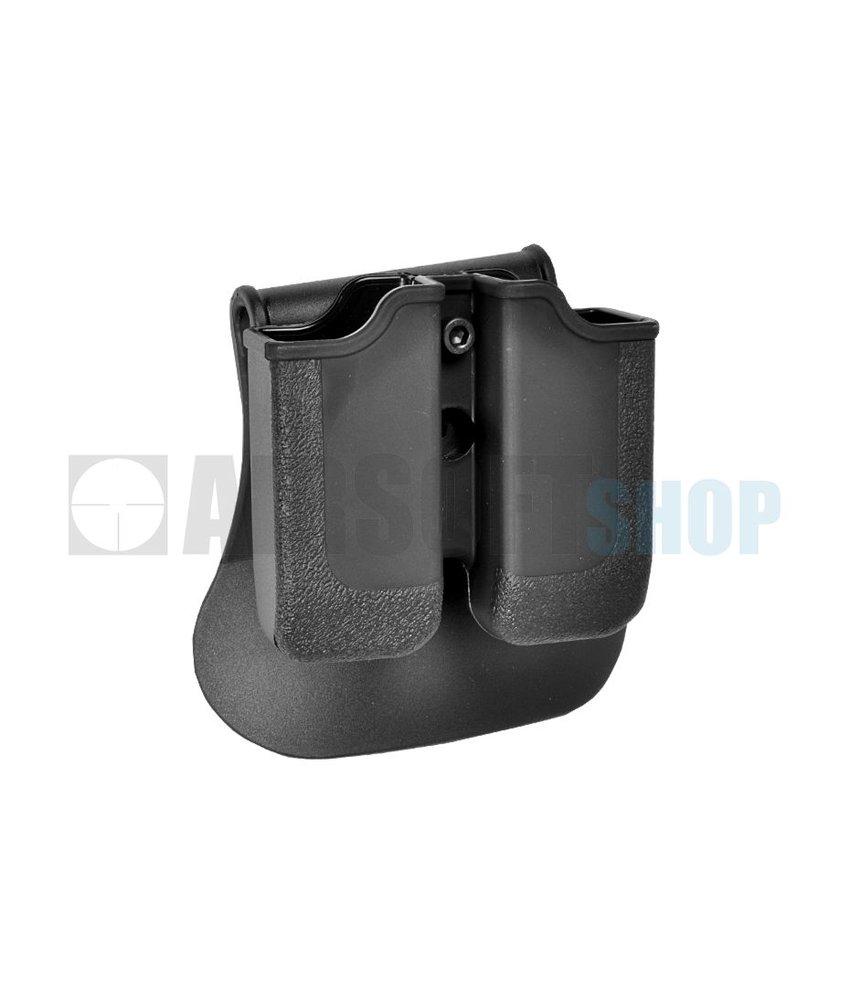 IMI Defense Glock Double Magazine Pouch (Black)