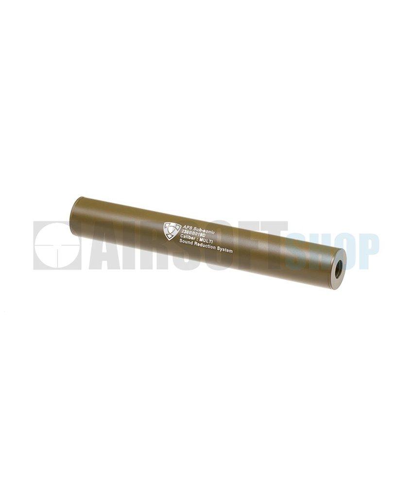 APS 230mm Silencer Black CCW (Dark Earth)